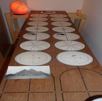 RADIONIQUE - Table radionique d'Eduard De Meulemeestere Nicole