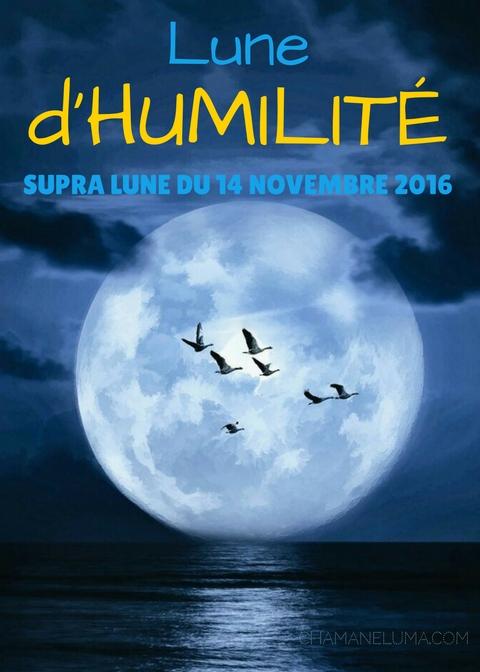 lune d'humilité