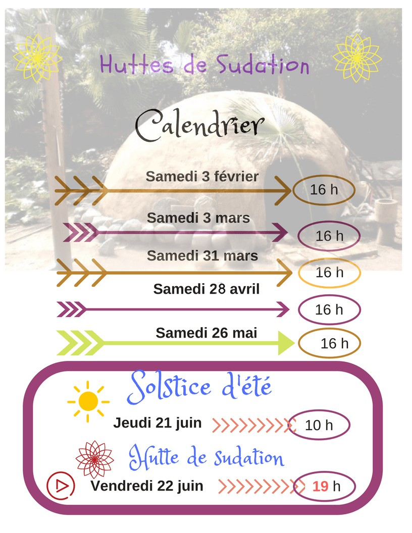 le-calendrier temazcal-dates